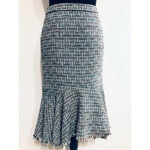 Anthropologie Elevenses Bellerby Flare Skirt sz 0